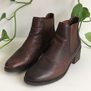 Wittner Elly Leather Ankle Boots Portugal pull on